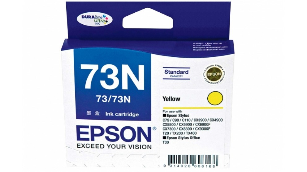 Epson 73N Yellow Colour Ink Cartridge