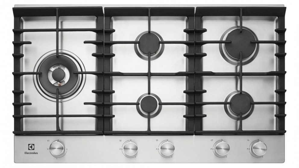 Electrolux 90cm 5 Burner Gas Cooktop