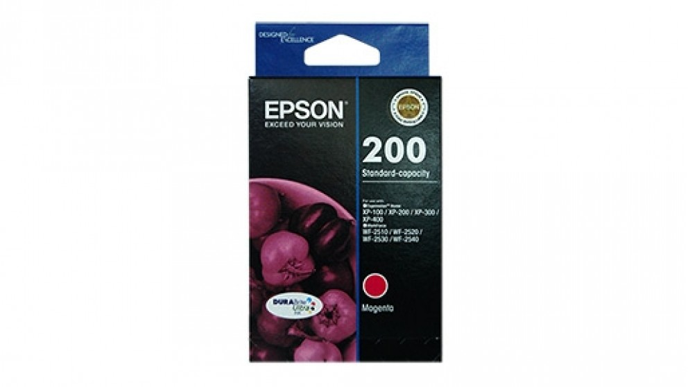 Epson 200 Standard Capacity DURABrite Ultra - Magenta Ink Cartridge