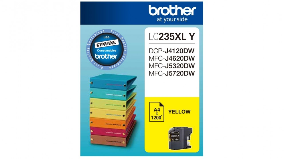 Brother LC235XLY Ink Cartridge - Yellow