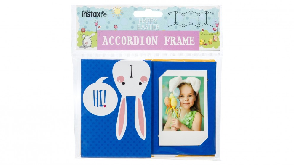 Instax Easter Accordion Frame