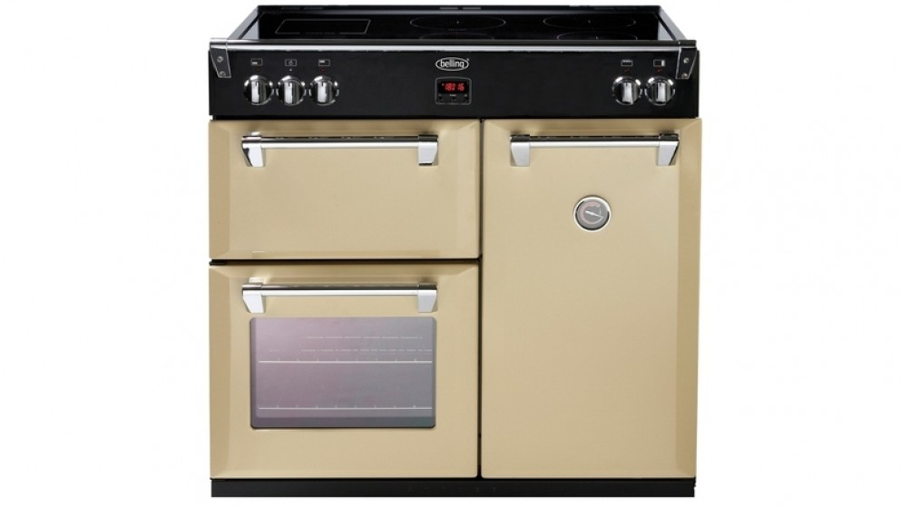 Belling 90cm Induction Range Freestanding Cooker - Cream