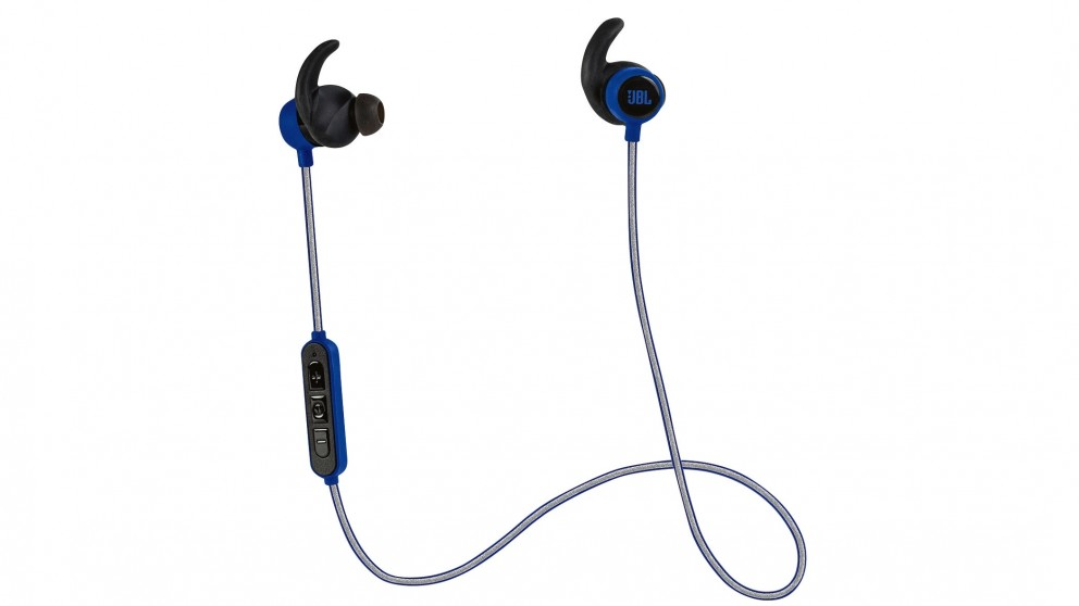 JBL Reflect Mini Bluetooth Sports In-Ear Headphone - Blue