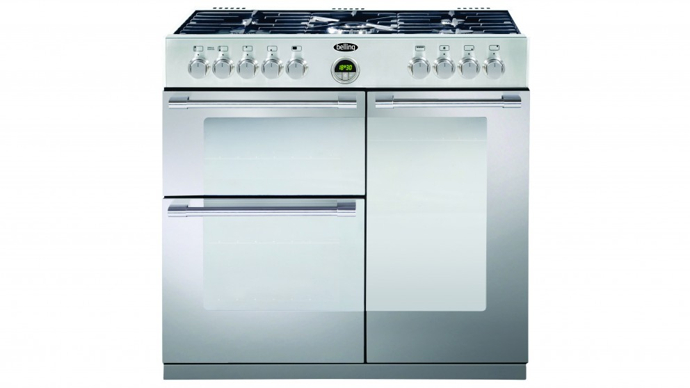 Belling 90cm Sterling Dual Fuel Freestanding Cooker - Stainless Steel