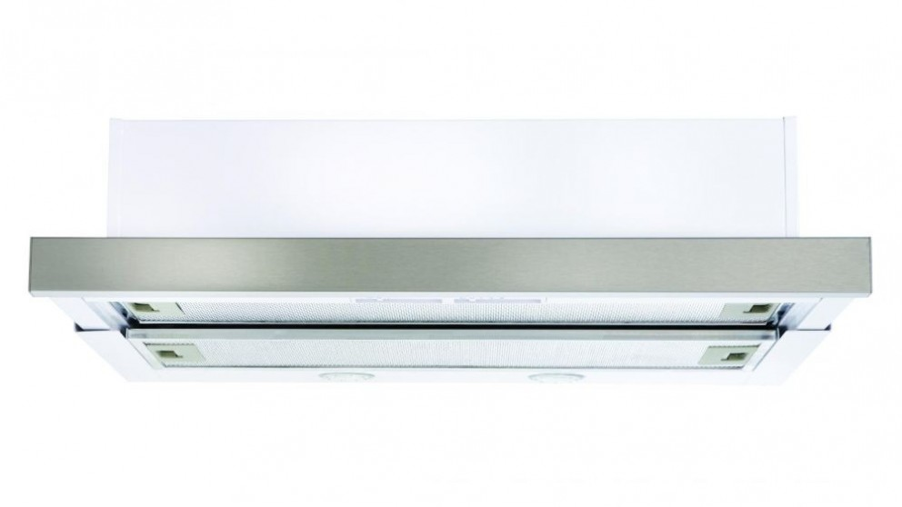 Euromaid 600mm White Slide Out Rangehood