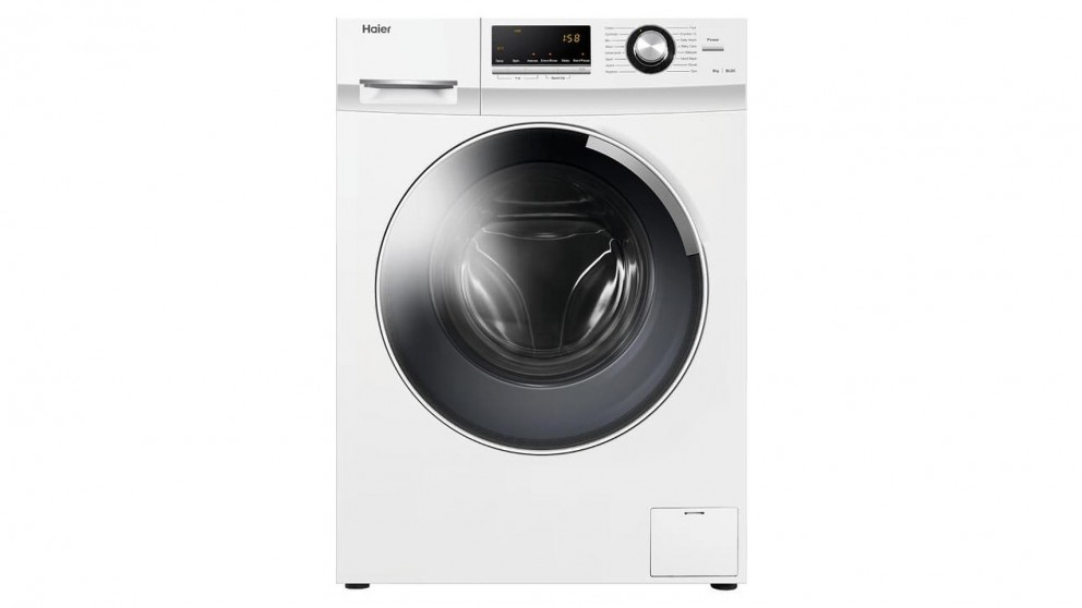 Haier 8kg Front Load Washing Machine - White