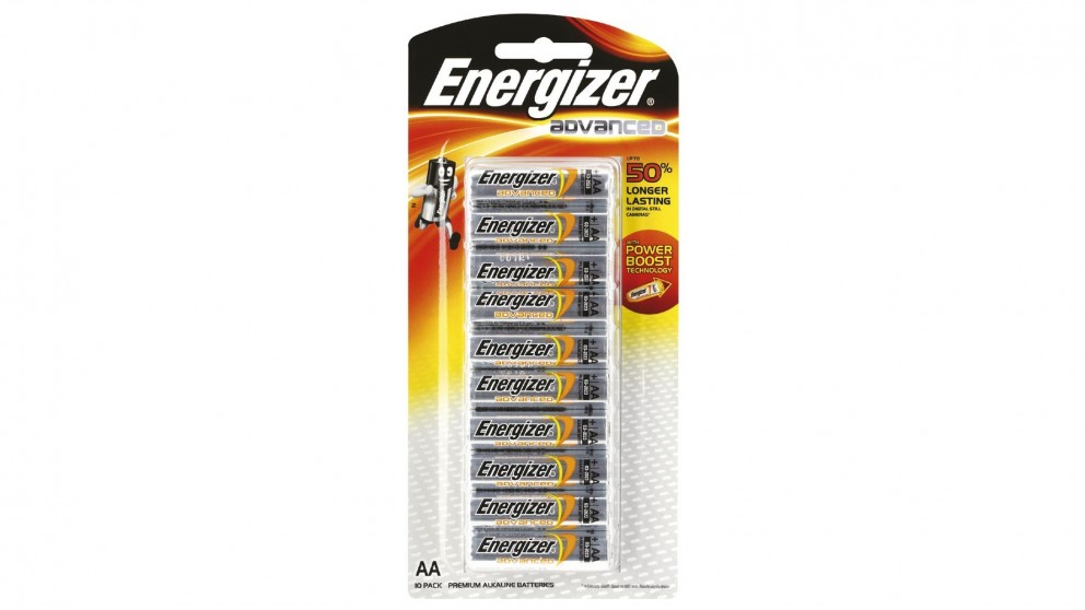 Energizer 10 Pack Advanced AA Battery