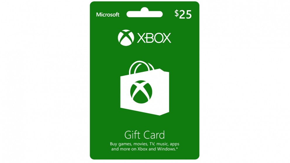 Xbox Live $25 Gift Card