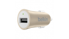 Belkin Universal USB Car Charger - Gold